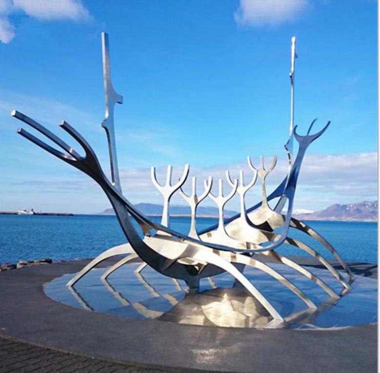 景区不锈钢雕塑