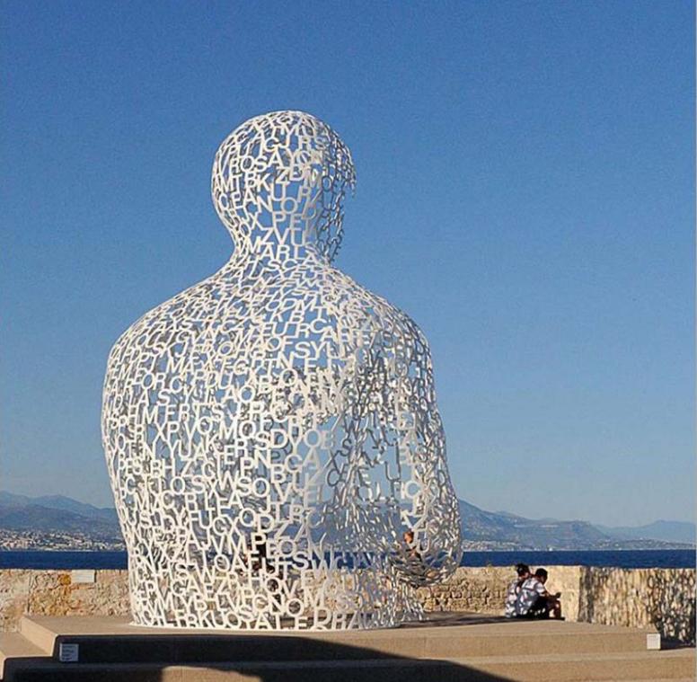 镂空不锈钢雕塑