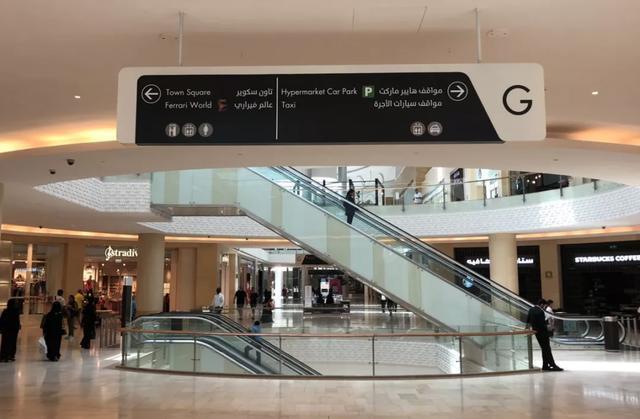 大型购物商场标识导视设计