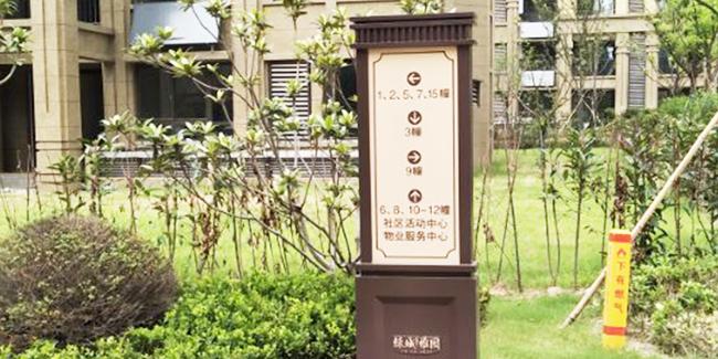 小区住宅标识