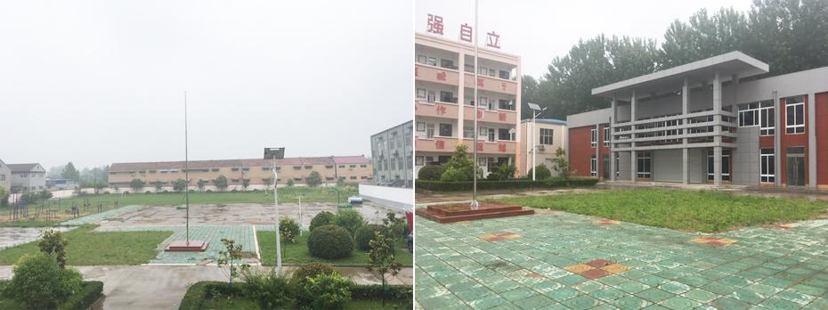 睢宁特殊教育中心校园现状