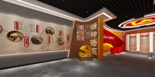 学校党建文化墙设计施工,工艺精美技术纯熟