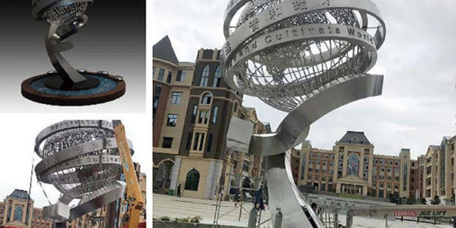 千帆分享:校园雕塑选用标准及价格因素