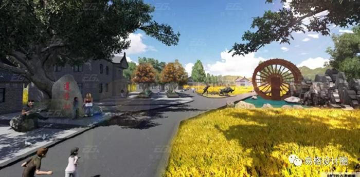乡村景观设计要点与原则的探讨2