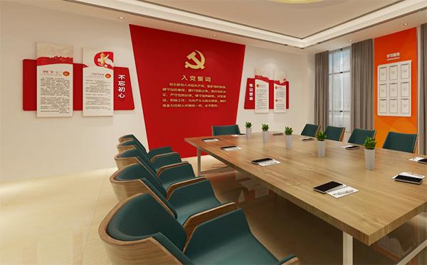 党建文化墙为何能影响到企业品牌的宣传力