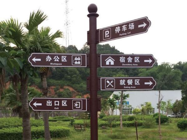 标识标牌和导视标牌之间的区别