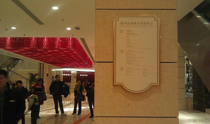 千帆分享:酒店标识系统功能分类