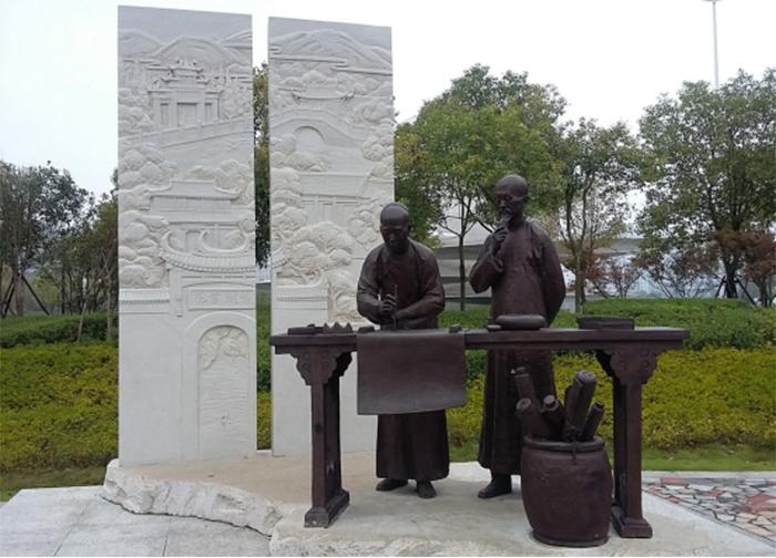 雕塑在校园文化中的体现3