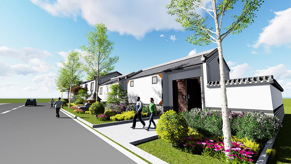 沛县五段镇美丽乡村文化建设-建筑形象