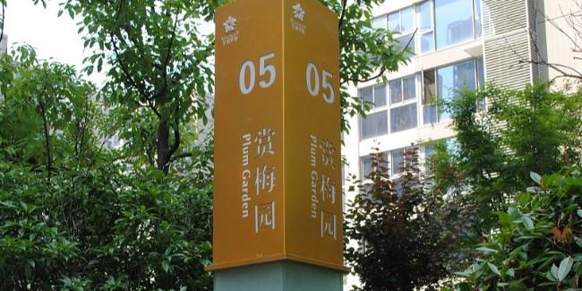 标识公司分享:住宅小区标识牌有哪些作用?