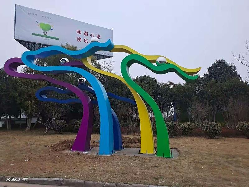 景观雕塑摆放位置注意事项?