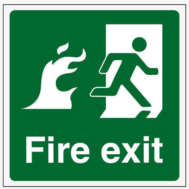 规范安全标识设计 指引你安全逃离火灾