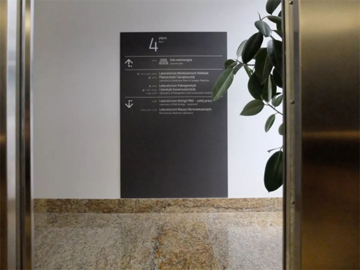 校园标识导视系统——华沙大学2