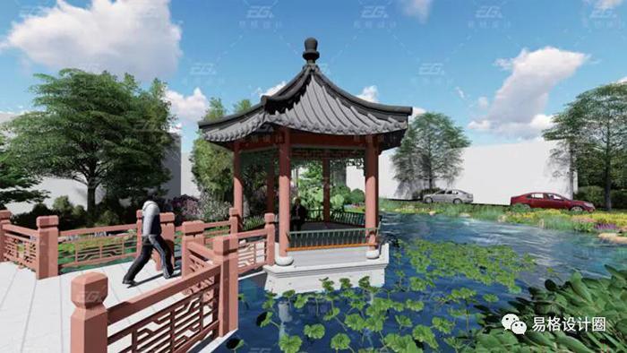 美丽乡村建设--绿化景观设计的探索-5
