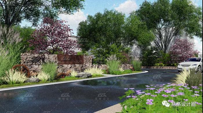 美丽乡村建设--绿化景观设计的探索-6