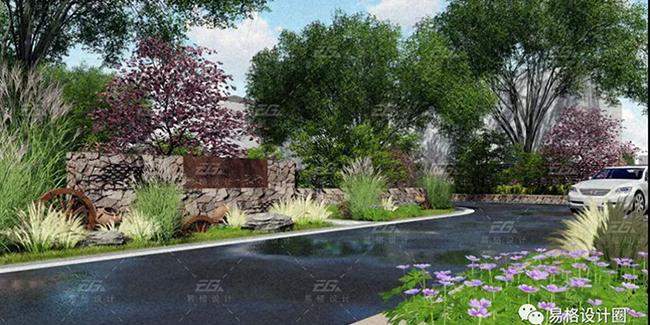 美丽乡村建设--绿化景观设计的探索