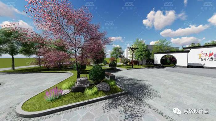 美丽乡村建设--绿化景观设计的探索-1