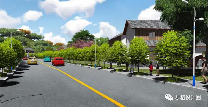 因地制宜规划乡村绿化建设4