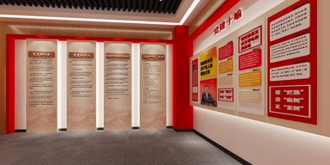 千帆分享:公司党建文化墙厂家,企业墙上的强大秘密