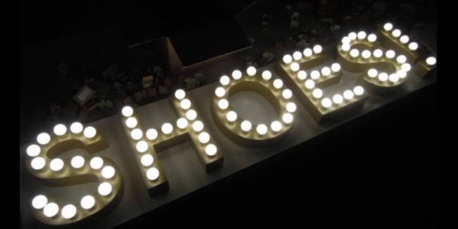 LED灯泡字在标识标牌设计中的优势