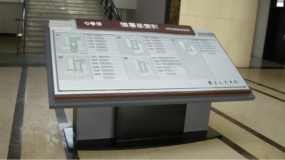 南京炮兵学院标识标牌制作案例
