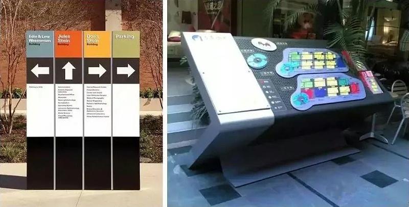 千帆标识-商业街区标识导视分类介绍