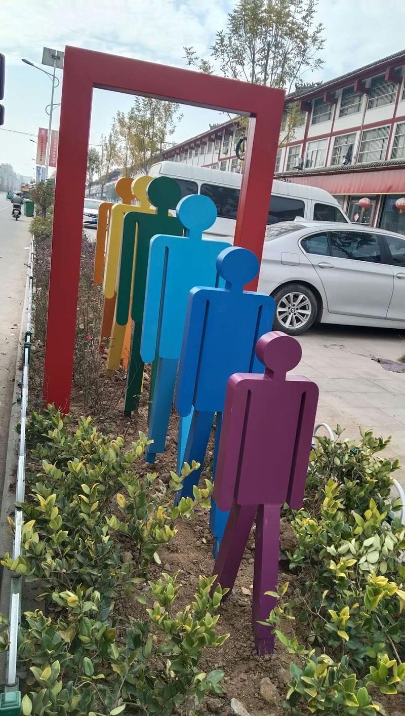 城市环境标识标牌的两个明显发展趋势